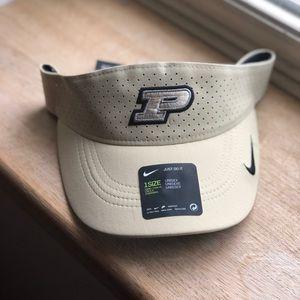 Lightweight breathable Purdue visor hat!